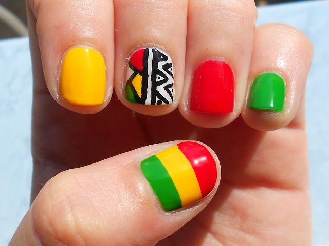My nails as Dara s nails in Falling in love  2NE1  2013  ComeBackDara Falling In Love Nails