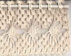 Crochet Patterns Valances : CROCHET PATTERNS FOR WINDOW VALANCE FREE CROCHET PATTERNS