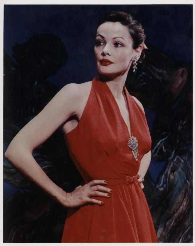 a look into gene tierney career I know very little about gene tierney's film career, but i recently read her  to  look like that without makeupwell, that certainly says something.