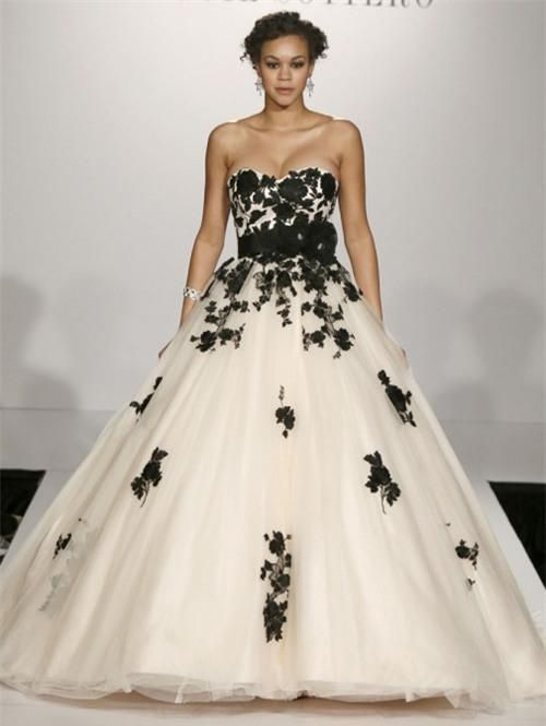 Black 4074 Wedding Dresses Pinterest