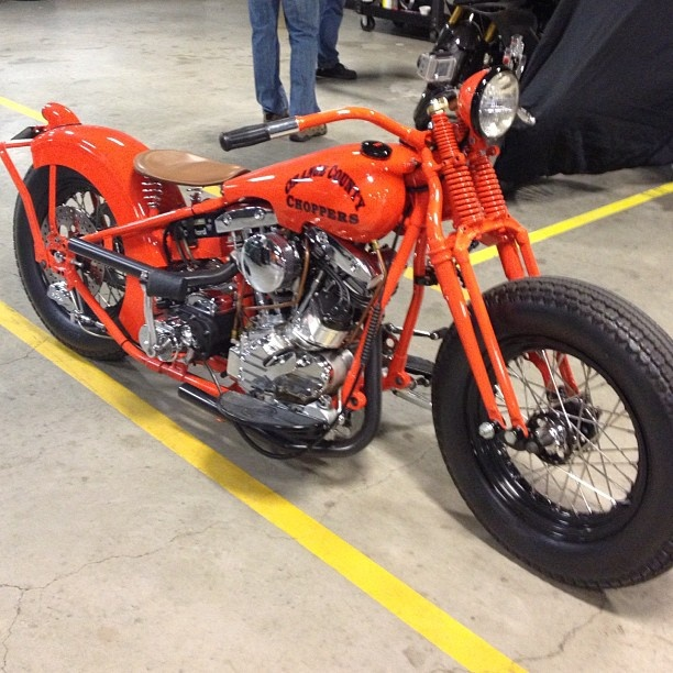 chad desabrais 49 weeks ago orange county choppers built by rick petko