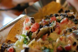 Chorizo, bean and cheese nachos recipe | Cooking & Baking | Pinterest