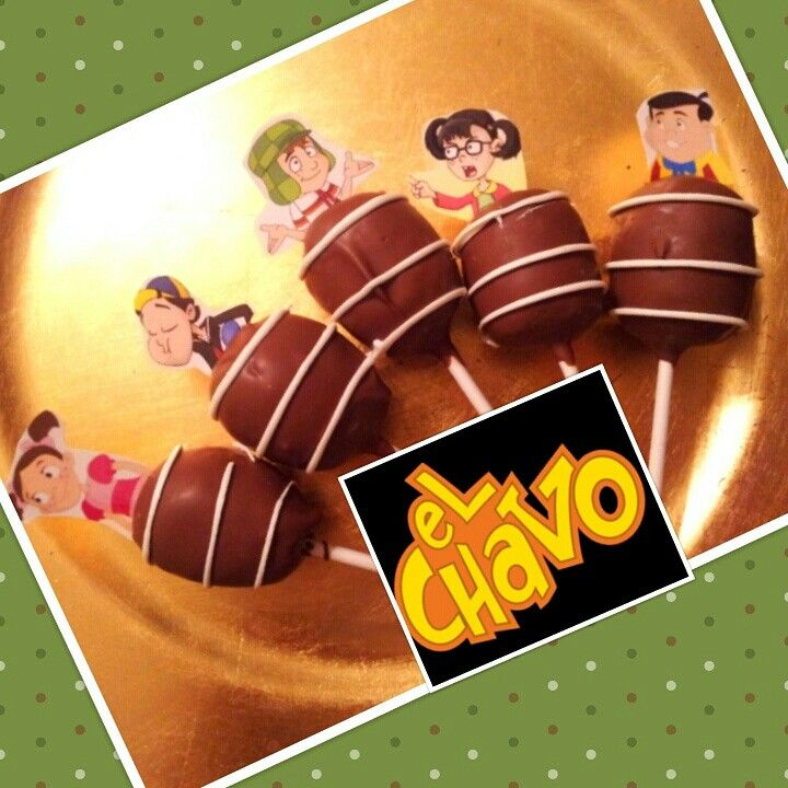 El Chavo cakepops