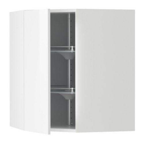 Ikea faktum high gloss white for Cuisine ikea gloss