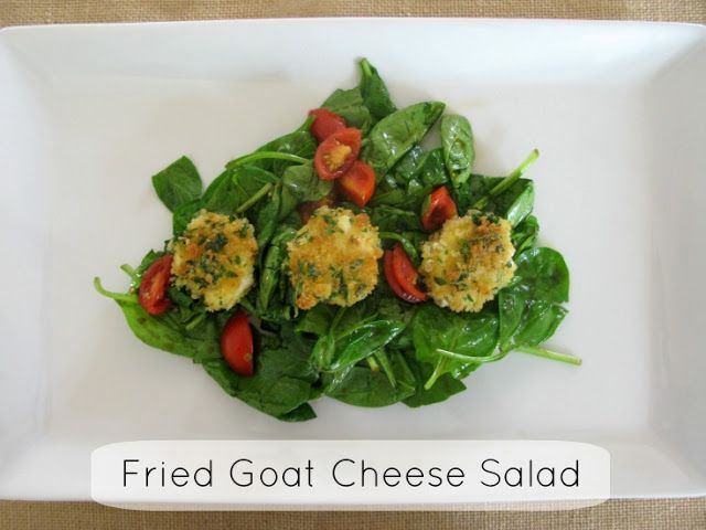 Love And Bellinis: Fried Goat Cheese Salad