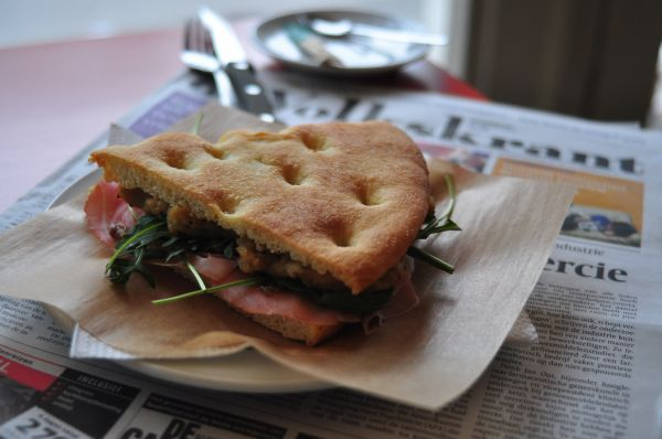 Southwest Thanksgiving Panini And Chowder Recipes — Dishmaps