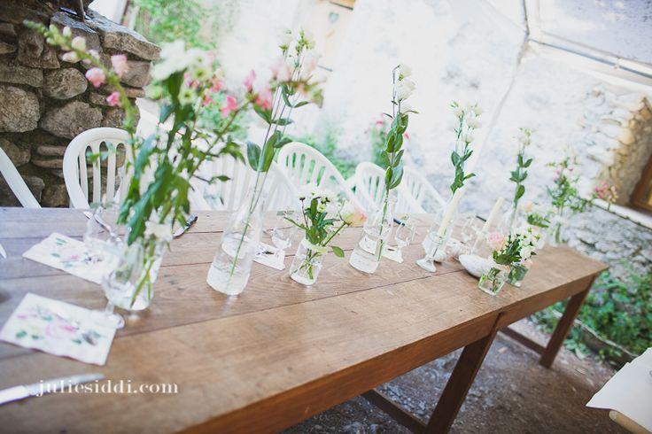 D co table des mari s diy r ve mariage pinterest - Decoration mariage de reve ...