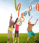 Use Your Noodle: Pool Noodle Backyard Games: Ring Things (via Parents.com)