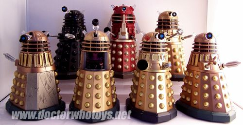 doctor who alien robots toy