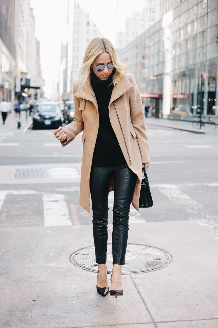 / camel coat
