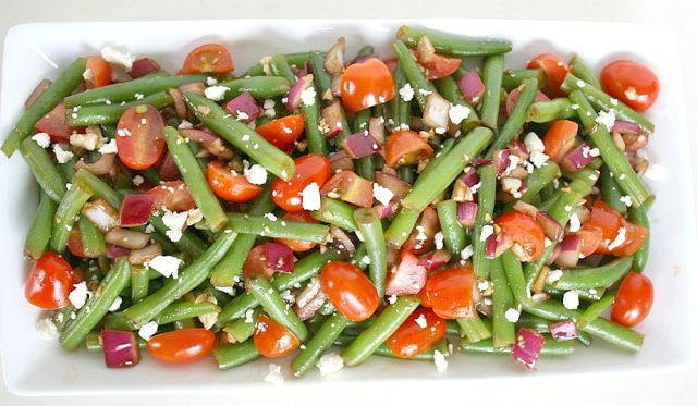 ... like this: green bean salads , balsamic green beans and bean salads