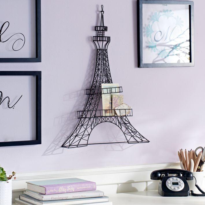 Wire Eiffel Tower Wall Decor Alexandra 39 S Room Pinterest