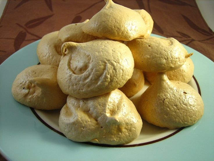 Brown Sugar Meringue Cookies | Desserts | Pinterest