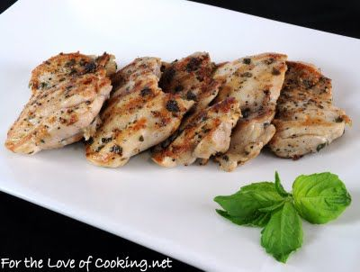Basil marinated chicken thighs | Favorite Recipes - Main Dishes | Pin ...