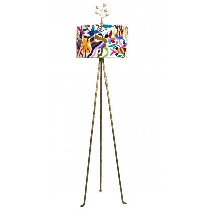 colorful floor lamp mexican design furniture treasures pinter. Black Bedroom Furniture Sets. Home Design Ideas
