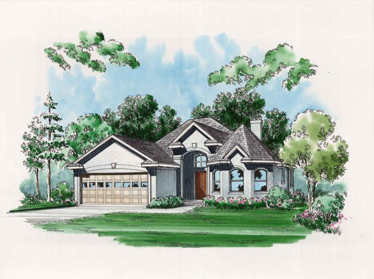"Magnolia Grove"" house plan available at DallasDesignGroup.com 214-801"