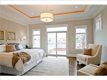 Casual Luxury Bedroom : Casual Luxury pendant by Feiss as seen in a Chicago home. #Feiss # ...