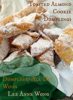 toasted almond cookie dumplings | Sweet and Savory Baking | Pinterest