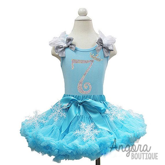 Frozen Elsa Inspired Birthday Outfit by AngoraBoutique on Etsy, $65.00 ...