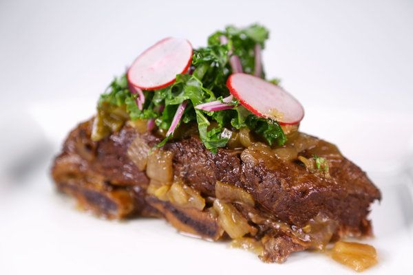 Slow Cooker Braised Short Ribs by Michael Symon - use 1/3 less liquid ...