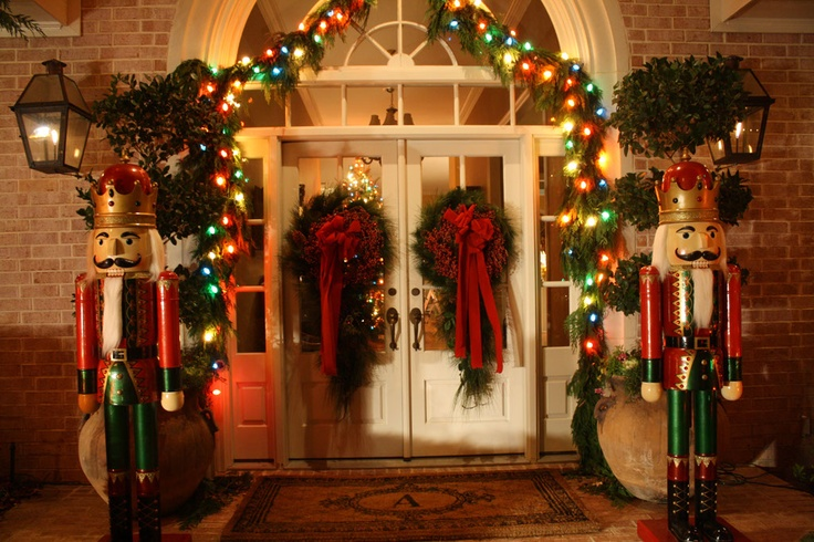 Pin by Cindy Atkinson on Holiday  Pinterest ~ 222853_Christmas Decorating Ideas With Nutcrackers