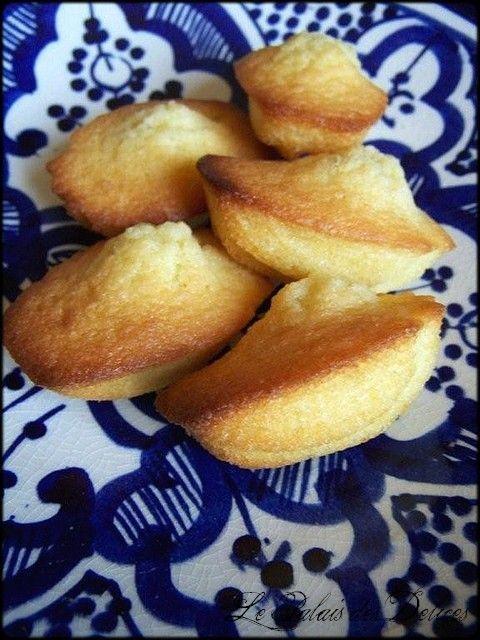 Mini madeleines de commercy au beurre demi-sel