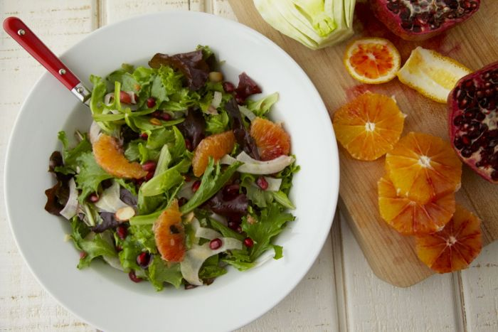 Winter Citrus Salad on Weelicious - This salad is delicious! My family ...