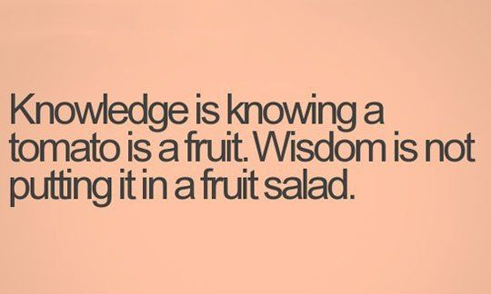 knowledge and wisdom Wisdom is a virtue that isn't innate, but can only be acquired through experience anyone who is interested in trying new things and reflecting on the process has the ability to gain wisdom by learning as much as you can, analyzing your experiences and putting your knowledge to the test, you can .