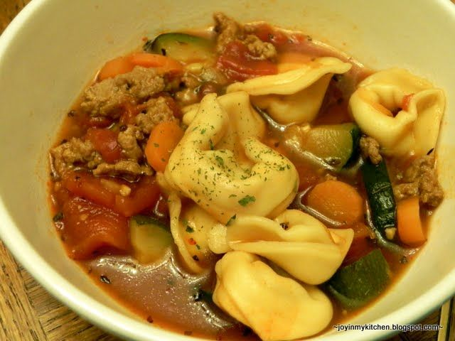Italian Sausage Tortellini Soup | Soup | Pinterest