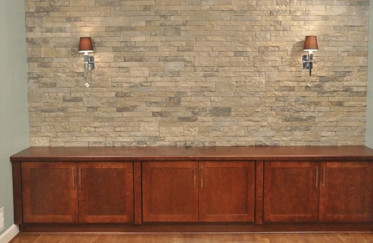 AirStone at Lowe's for the fireplace wall and  | Decorating Ideas