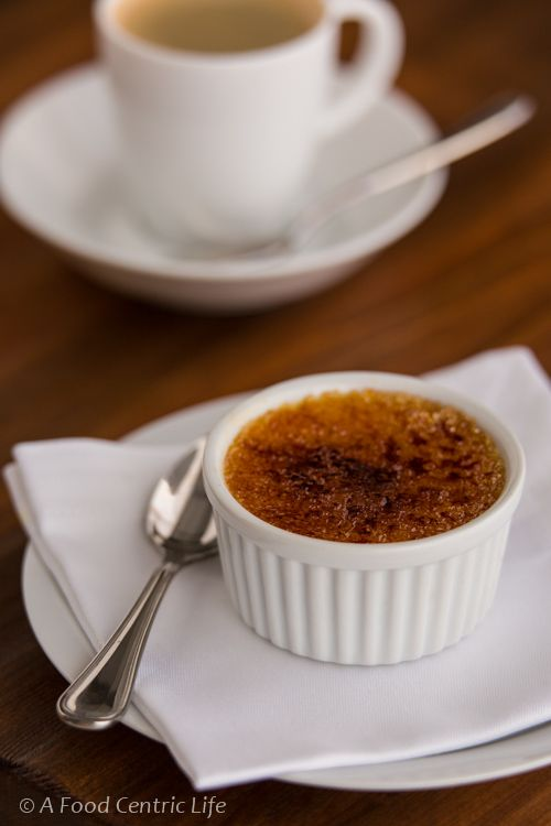 orange and ginger creme brulee : From ' A food centric life'