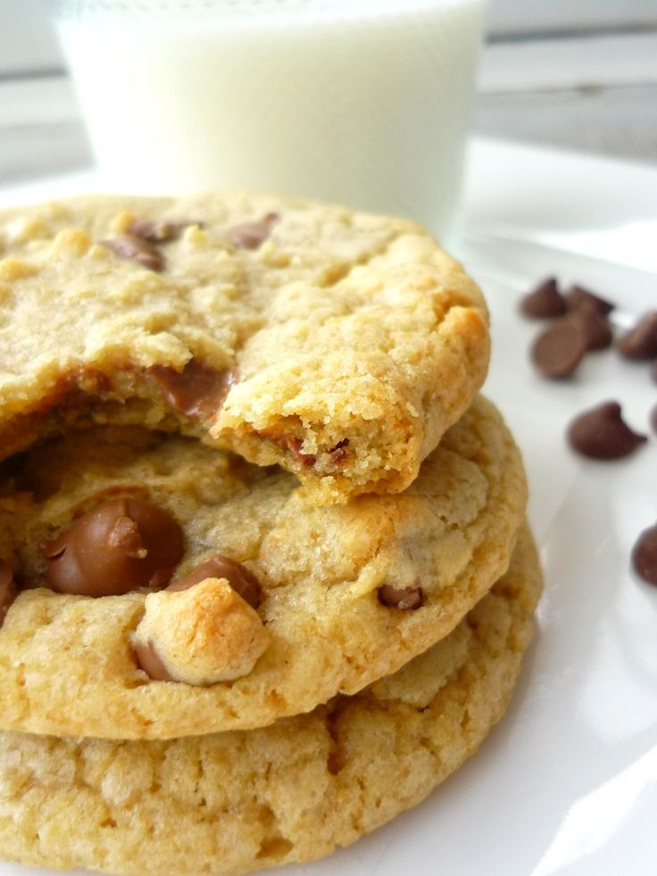 Thick and Chewy Chocolate Chip Cookies-Tried these...they are ...