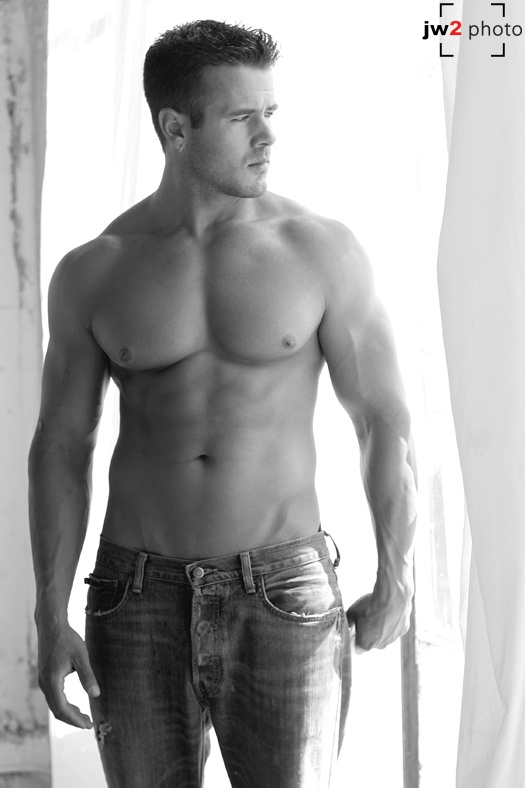 "Buffed hunky male model wearing jeans | Denim Hunks: ""Nothing comes b ..."