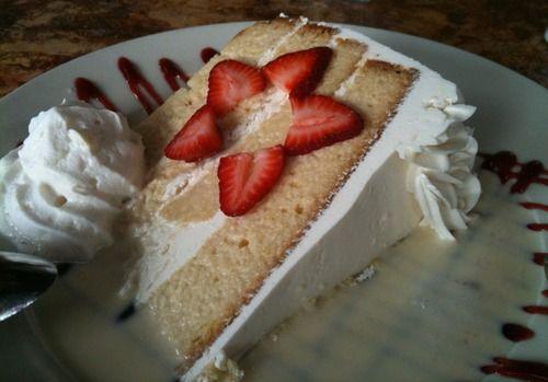 Cuatro Leches cake [oh my] from No Mas Cantina in Atlanta, GA.