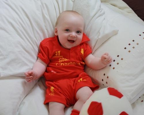 Babies In Kits  Liverpool Fc Liverpool Fc Pinterest