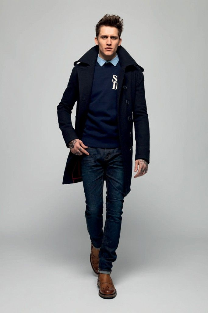 A fall '13 look from Superdry. [Courtesy Photo]