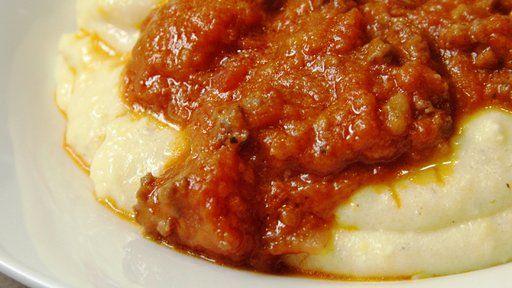 Sausage Ragu with Soft Polenta Recipe Text | Rouxbe Cooking School