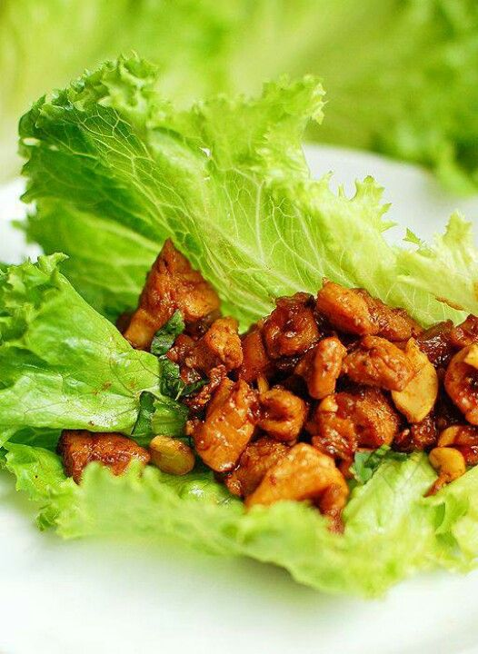 Chicken Cashew Chicken Wraps | Recipes | Pinterest