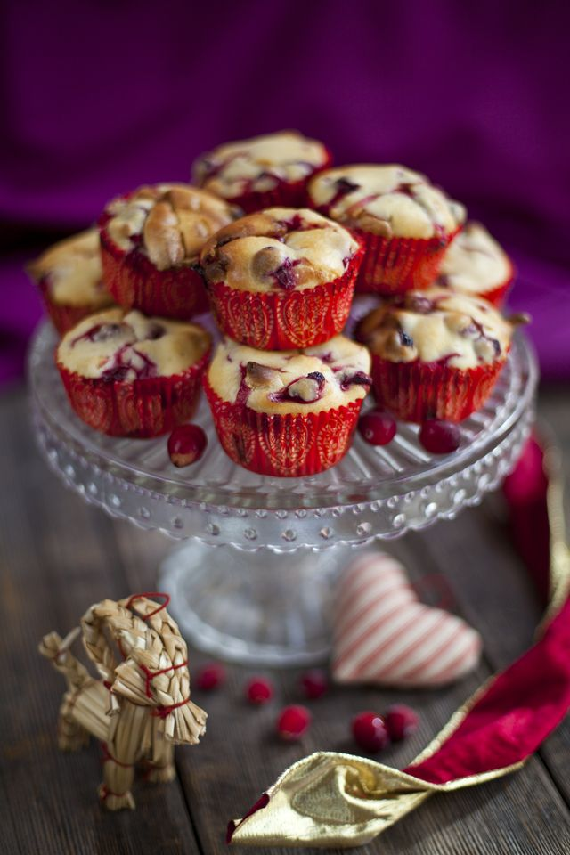 Cranberry & White Chocolate Muffins...♡ | Bon Appétit | Pinterest