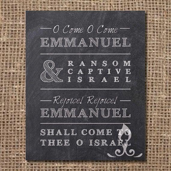 O Come O Come Emmanuel  WorshipReadycom