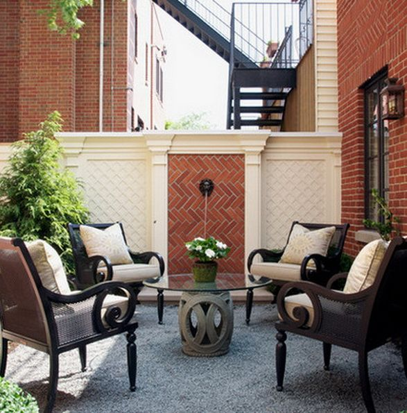 Small Urban Patio Ideas