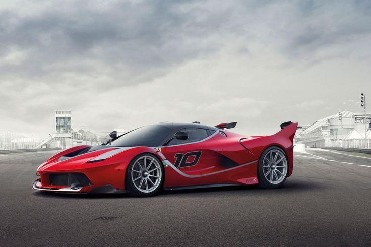 Ferrari LaFerrari FXXK - front