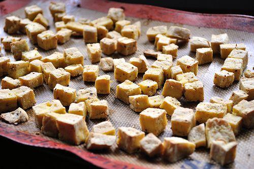 Easy Baked Tofu Recipe — Dishmaps