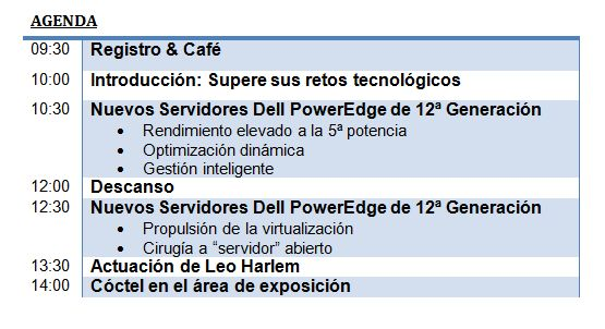 Lanzamiento de los nuevos Servidores Dell PowerEdge 12G