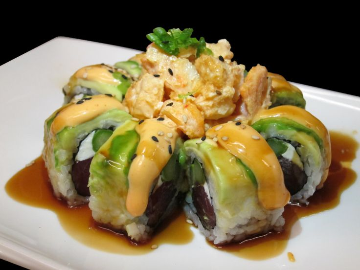 volcano roll # sushi # tampa # usf