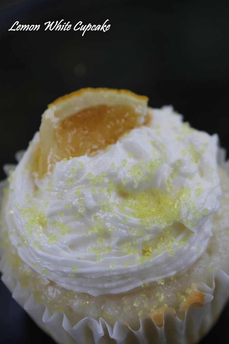 Lemon White - White Cake with a Lemon Glaze. Topped with Lemon Chiffon ...