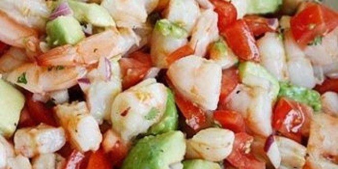Zesty Lime Shrimp And Avocado Salad | food i'm going to make...probab ...