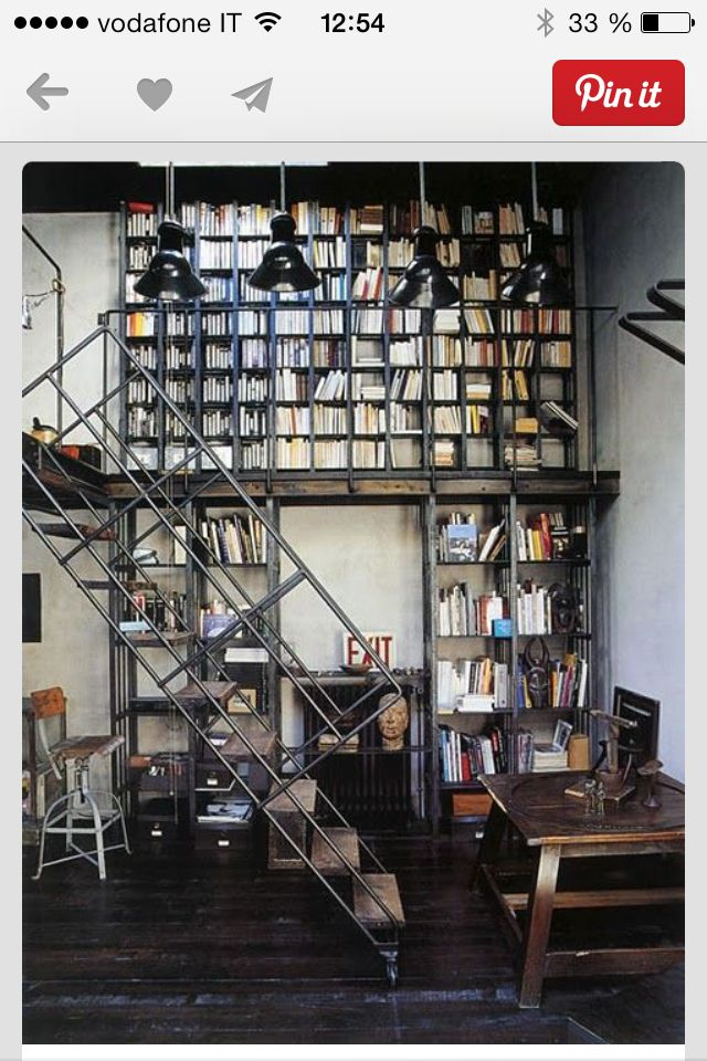 Libreria/muro  home san damiano  Pinterest