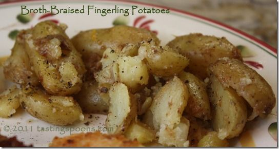 Braised Fingerling Potatoes | Food and Drink/ Oh My! | Pinterest