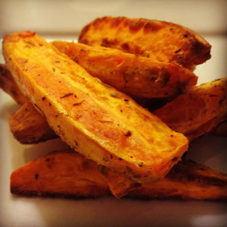 Baked Sweet Potato Wedges | Vegetables | Pinterest